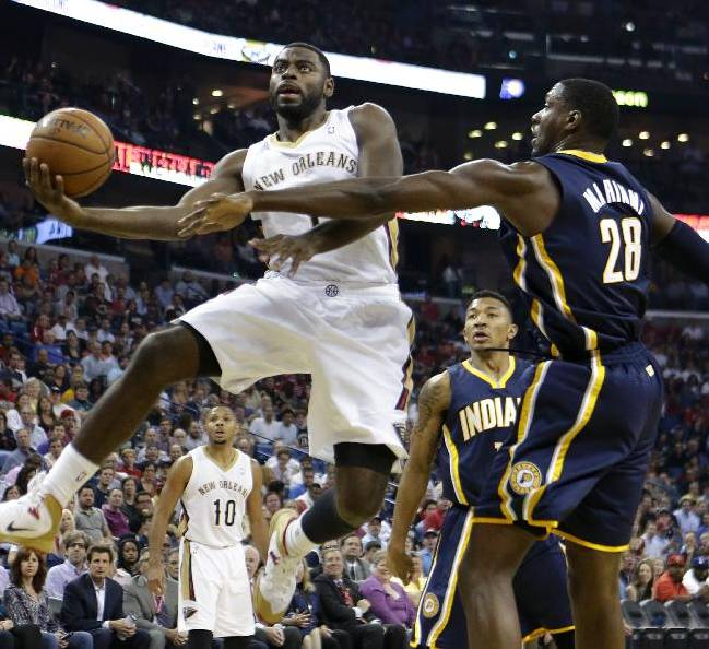 George, Hill lead Pacers past Pelicans 95-90