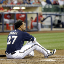 OF Carlos Gomez scratched from Brewers' lineup vs Royals The Associated Press