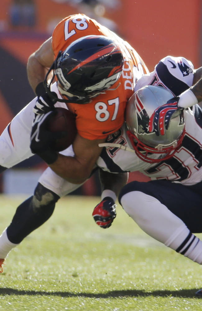 NFL's top official: Welker's hit on Talib legal