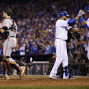 Royals clobber Giants 7-2 to even World Series The Associated Press