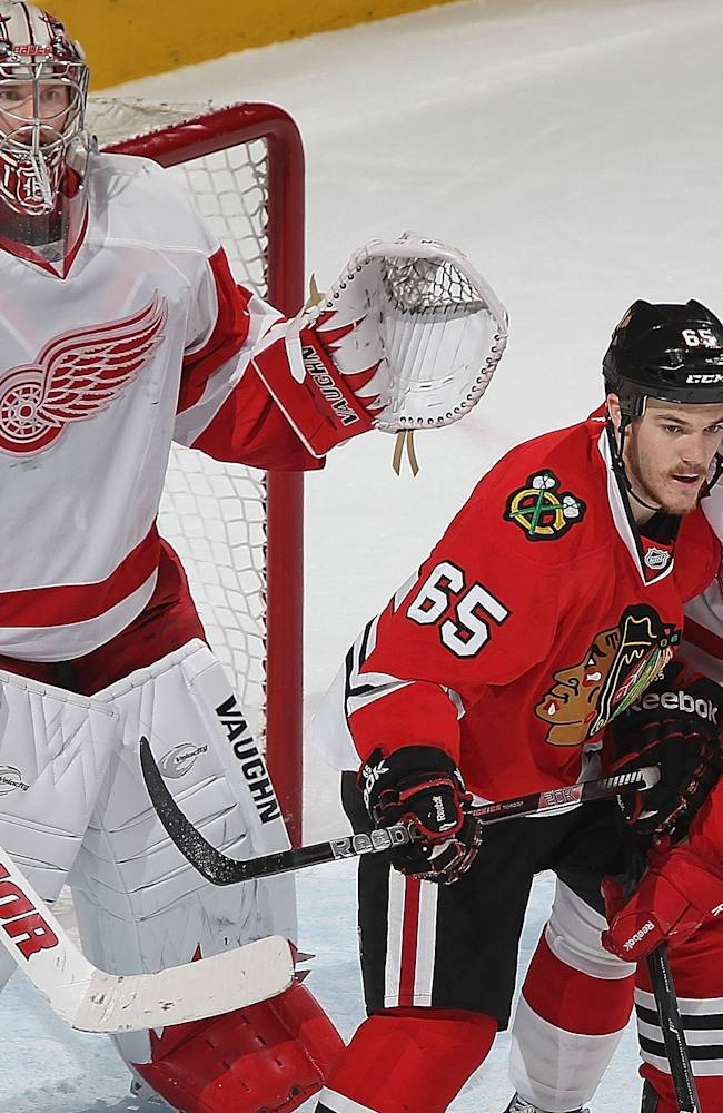 2013 NHL playoffs: Chicago Blackhawks vs. Detroit Red Wings