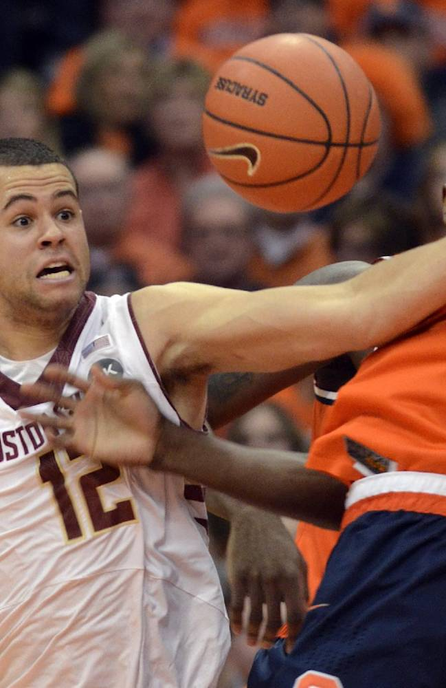 Boston College stuns No. 1 Syracuse 62-59 in OT