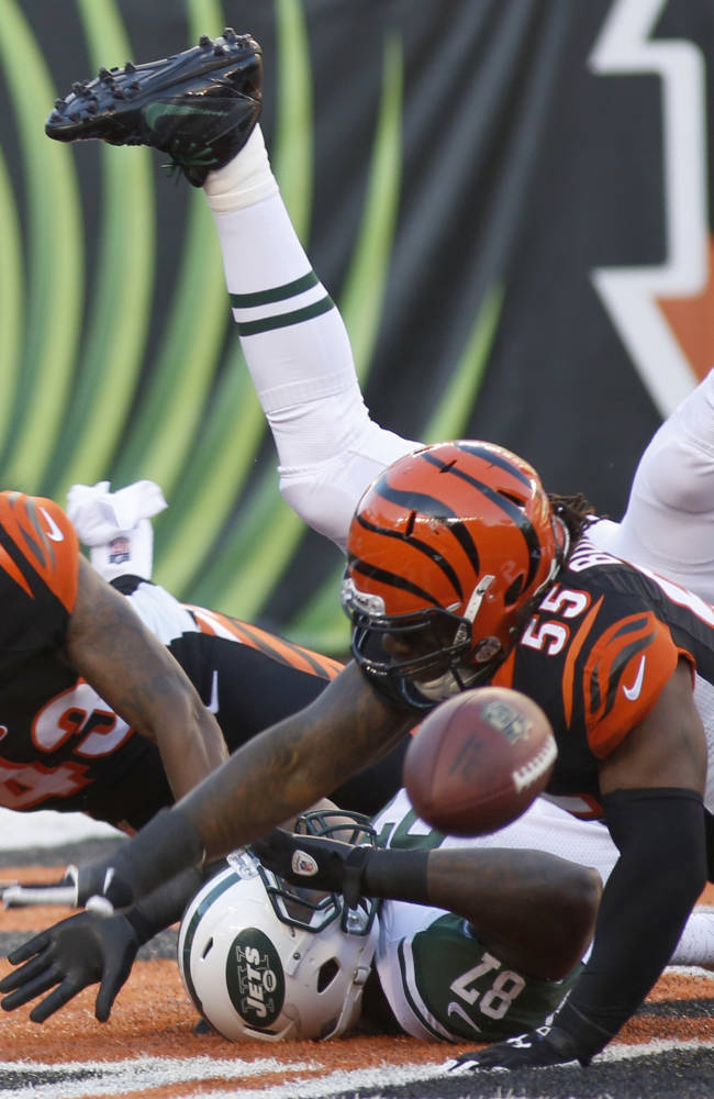 Bengals' Burfict fined $21K for hit vs. Jets