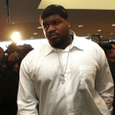 Dallas Cowboys nose tackle Josh Brent leaves court Tuesday, Dec. 18, 2012 in Dallas.  A judge ordered Brent to wear an electronic monitor pending his trial on an intoxication manslaughter charge in the one-car crash that killed a teammate. (AP Photo/Michael Mulvey)
