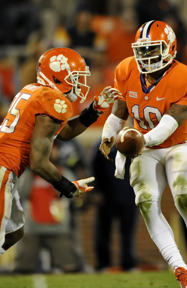 5 things from Clemson's 55-31 win over Ga Tech