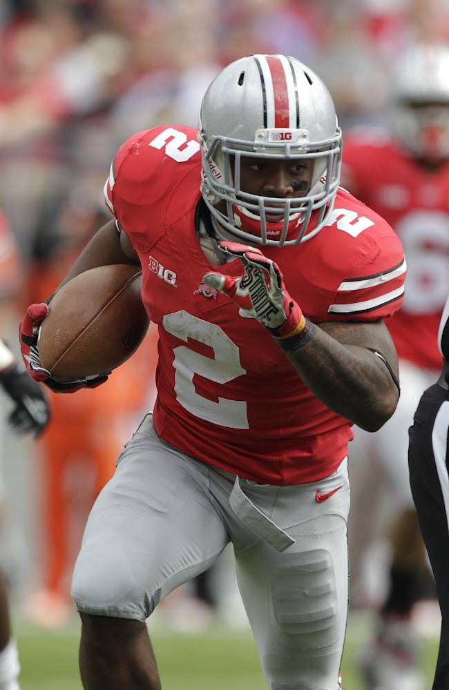 Meyer loves to run yet no tailback has 1,000 yards