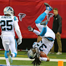 Panthers crush Falcons 34-3, roll into playoffs The Associated Press