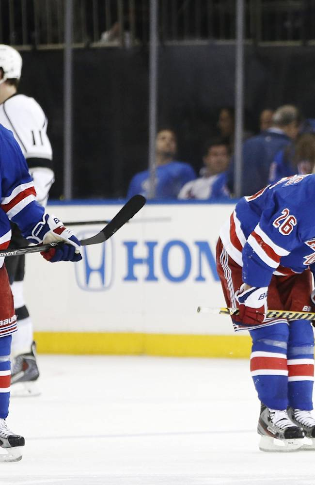 Rangers their own worst enemy in Game 3