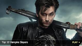 Top 10 Vampire Slayers