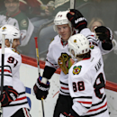 Bickell scores 2 goals, Blackhawks hold off Wild 4-2 The Associated Press