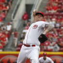 Cozart, Negron HRs back Latos, Reds over Indians The Associated Press