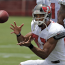 Tampa Bay Buccaneers wide receiver Vincent Jackson catches a pass during an NFL football training camp Monday, July 28, 2014, in Tampa, Fla The Associated Press
