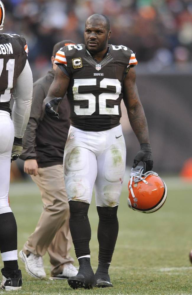 Browns release LB D'Qwell Jackson