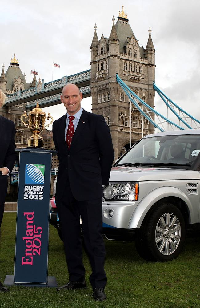 IRB Rugby World Cup 2015 Land Rover Photocall