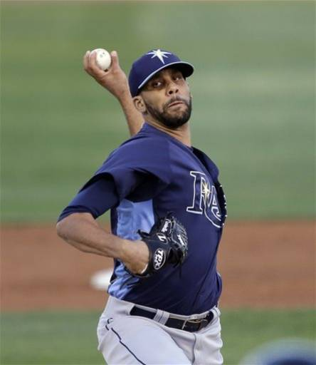 Price throws 4 scoreless, Rays tie Orioles 4-4
