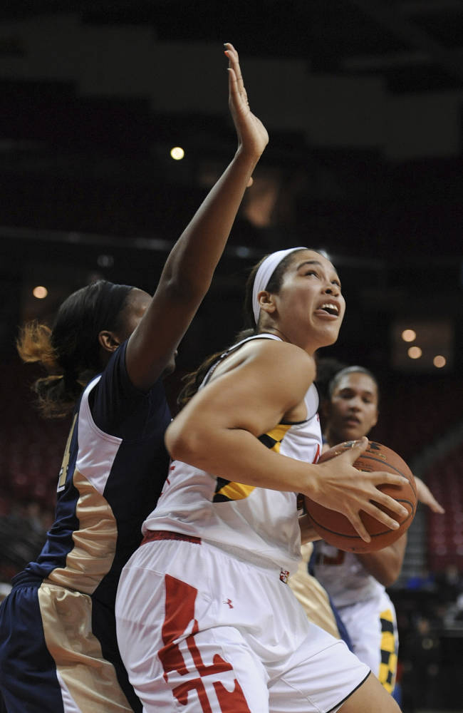 No. 10 Maryland women defeat Pittsburgh 94-46