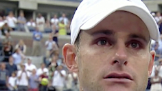 Andy Roddick's Emotional Post-Match Speech