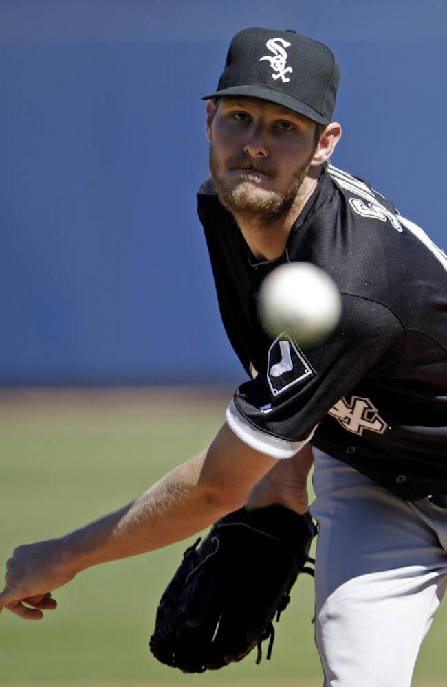Sale pitches solidly, White Sox Beat Brewers 6-3