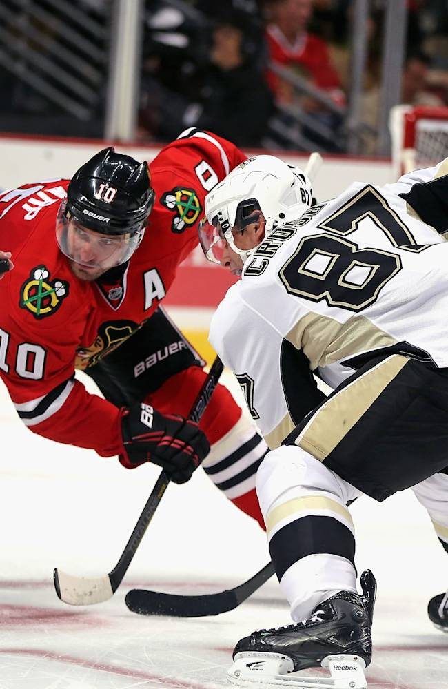 Pittsburgh Penguins v Chicago Blackhawks