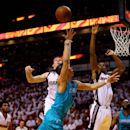 Charlotte Hornets v Miami Heat - Game Two Getty Images