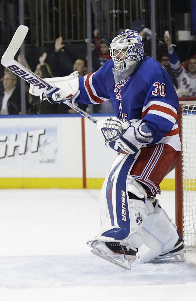 Busy Rangers in midst of 6 playoff games in 9 days