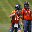 Peyton Manning adjusting to new offense in Denver The Associated Press