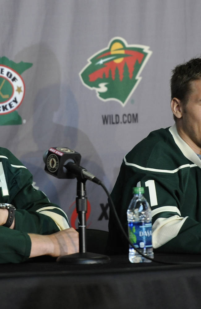 Minnesota Wild Introduce Zach Parise and Ryan Suter - Press Conference
