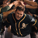 John Jaso's pinch-hit HR lifts A's over Angels 3-2 The Associated Press