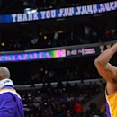 Lakers beat 76ers 113-111 in OT on Clarkson's basket The Associated Press