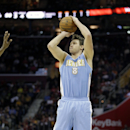Gallinari has no timetable for return to floor The Associated Press
