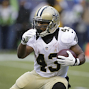 New Orleans Saints running back Darren Sproles (43) against the Seattle Seahawks during an NFC divisional playoff NFL football game in Seattle, Saturday, Jan. 11, 2014 The Associated Press