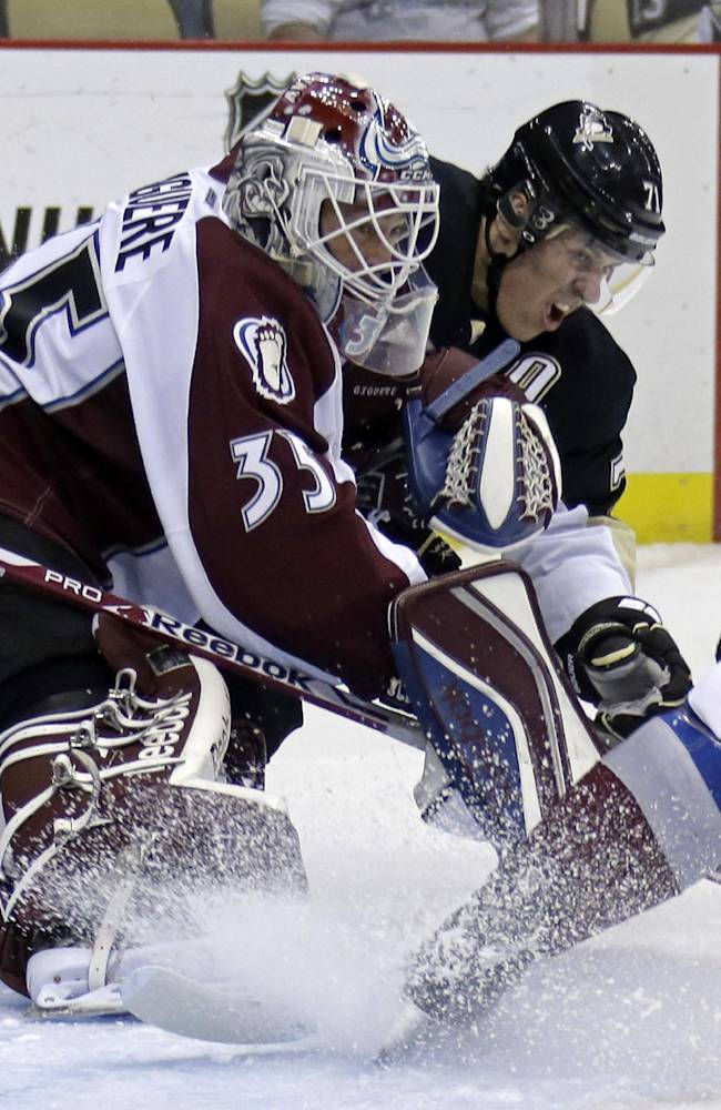 MacKinnon, Avalanche top Crosby, Penguins 1-0