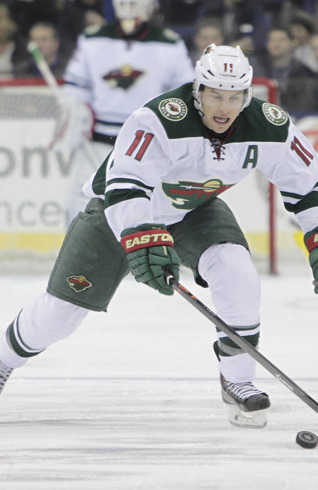 Parise returns from foot injury for Wild