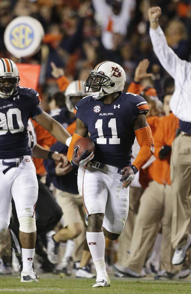 No. 3 Auburn players say it's more pluck than luck