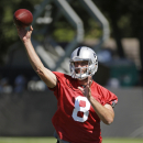 Raiders brimming with optimism at start of camp The Associated Press