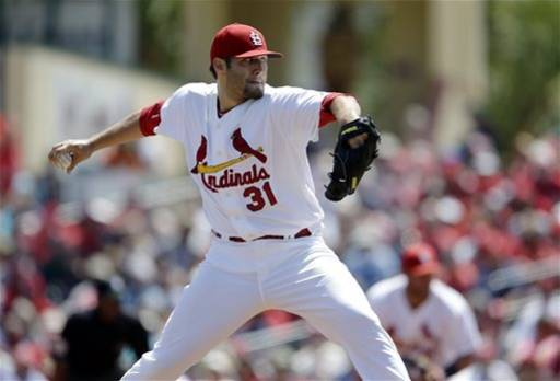 Cardinals' Lynn has his best start of spring