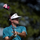 Bubba Watson tees off at the 7th hole during the second round of The Barclays at Plainfield Country Club. Mandatory Credit: Eric Sucar-USA TODAY Sports