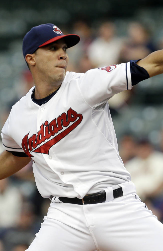 Indians make RHP Ubaldo Jimenez $14.1M offer