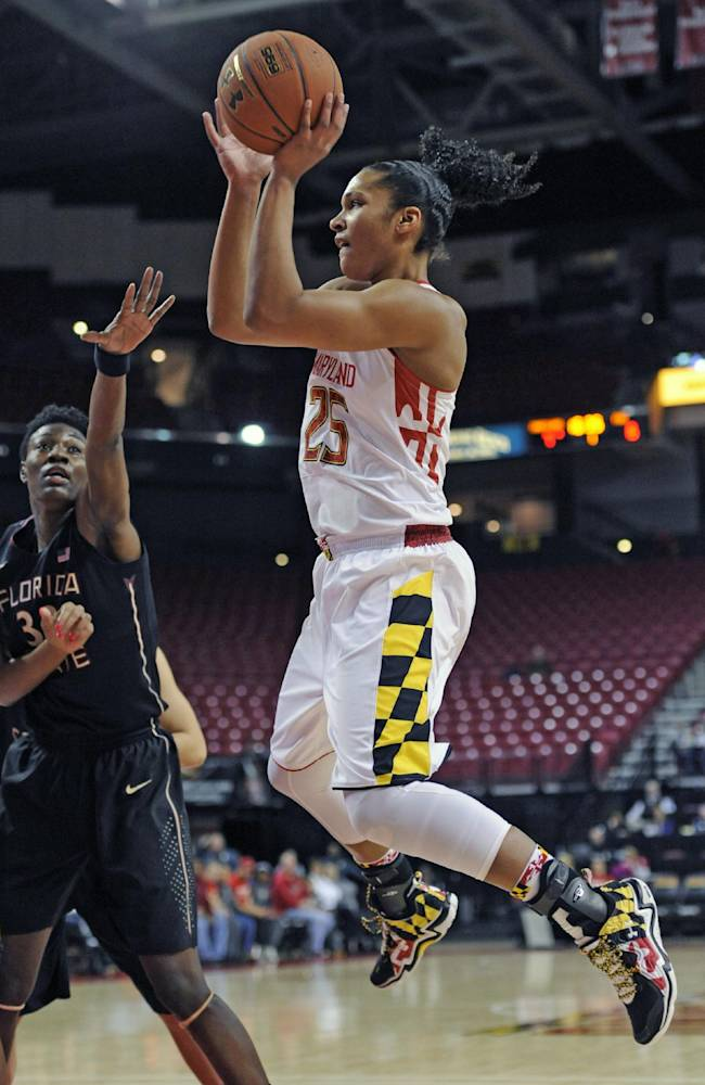 No. 8 Maryland women defeat Florida State 87-77