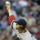 Boston Red Sox starter Clay Buchholz throws during the first inning of a baseball game against the Chicago White Sox in Chicago, Wednesday, May 22, 2013. (AP Photo/Nam Y. Huh)
