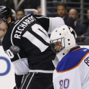 Kings rookie Martin Jones blanks Oilers 3-0 The Associated Press