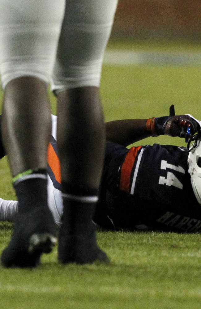 Lashlee: Auburn's Marshall appears OK for Arkansas