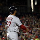 St. Louis Cardinals' Jhonny Peralta tosses his bat after striking out during the fifth inning of a baseball game against the Washington Nationals at Nationals Park, Friday, April 18, 2014, in Washington The Associated Press