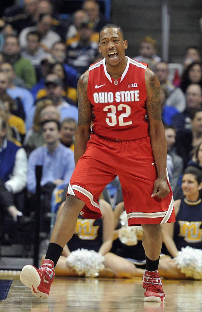 No. 10 Ohio State beats No. 17 Marquette 52-35