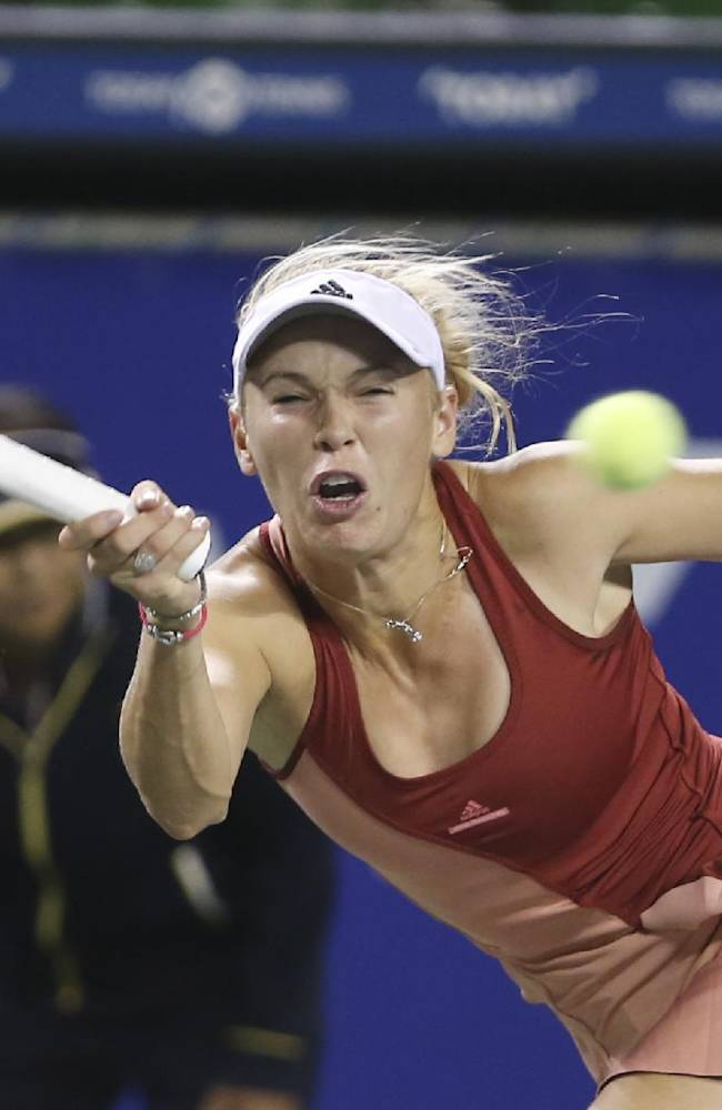 Wozniacki into quarterfinals at Pan Pacific Open