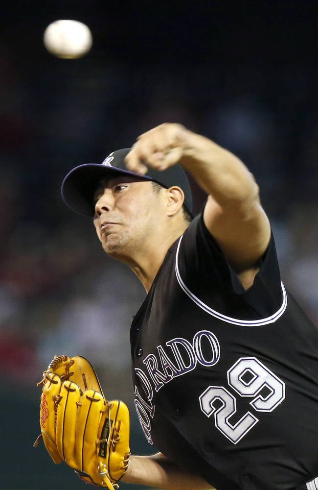Rockies, LHP De La Rosa agree to $25M, 2-year deal