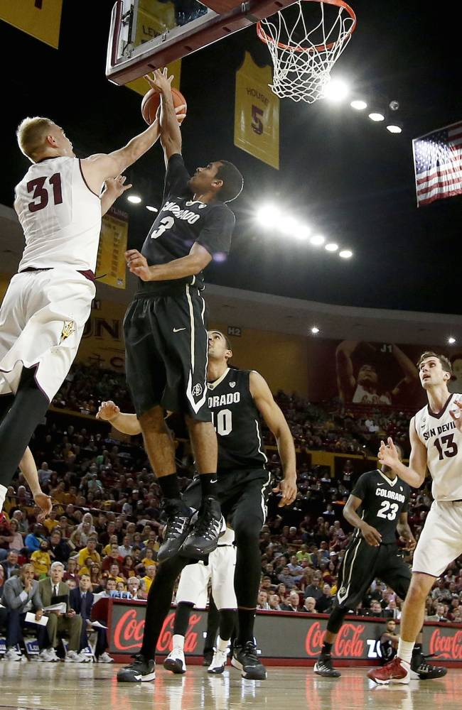 Sun Devils blow past Buffaloes 72-51
