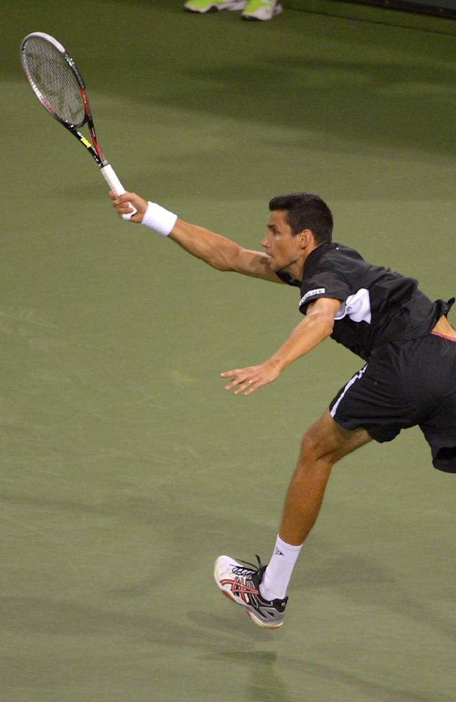 4th-seeded Tomas Berdych falls in Indian Wells