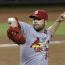 St. Louis Cardinals' Jaime Garcia delivers a pitch during the third inning of a baseball game against the Miami Marlins, Wednesday, June 24, 2015, in Miami. (AP Photo/Wilfredo Lee)