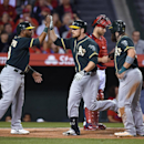 Angels beat A's 5-4 on Iannetta's HR in 12th The Associated Press
